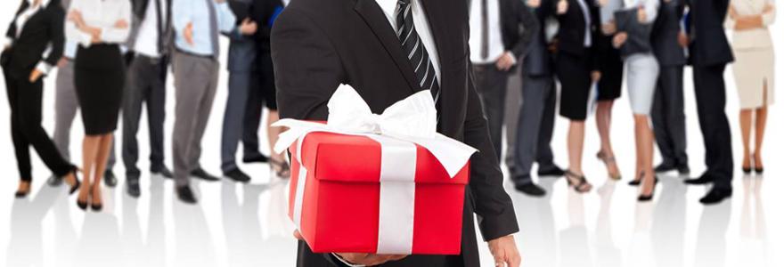 Coffret cadeau d'entreprise personnalisé