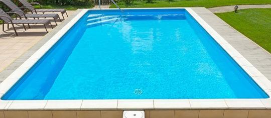 La piscine en kit