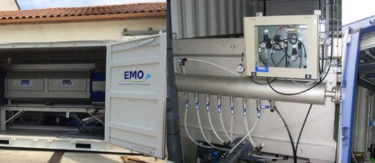équipements de traitement des boues