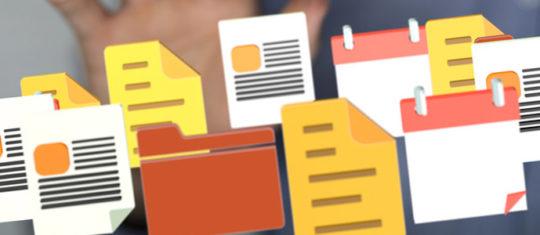 dématérialisation des documents