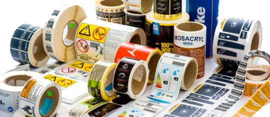 Étiquettes adhésives