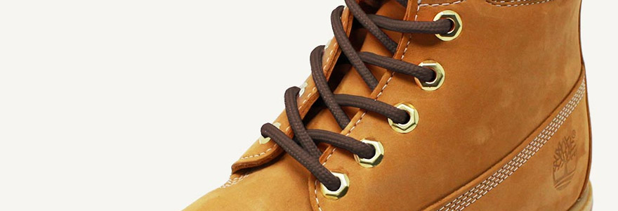 lacets pour chaussures Timberland