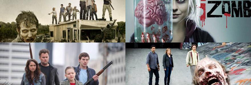 séries de zombies