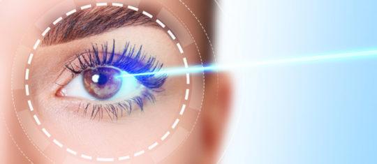 laser des yeux